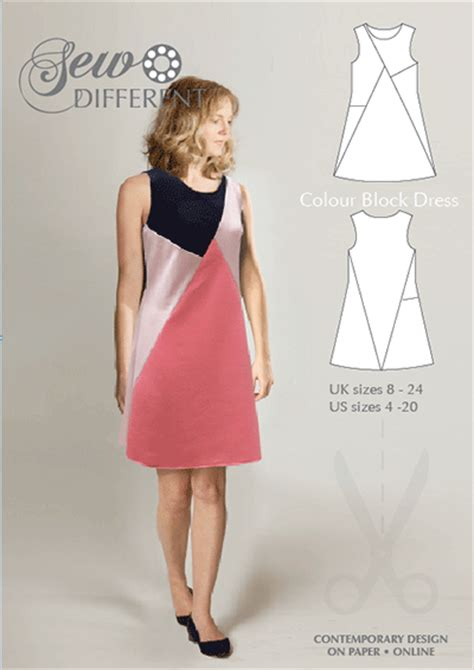 pattern dress block sew different easy sewing patterns tutorials blog and