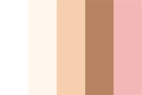 tone on tone color skin colour test palette 2 color palette