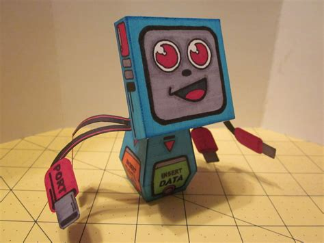 Computer Paper Crafts - papercraft computer by enc86 on deviantart