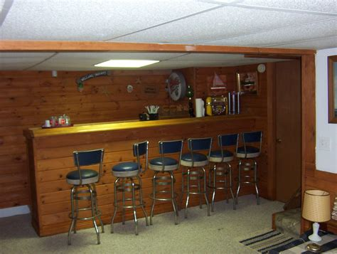 Pictures Of Bars In Basements desano cottage photo page basement bar