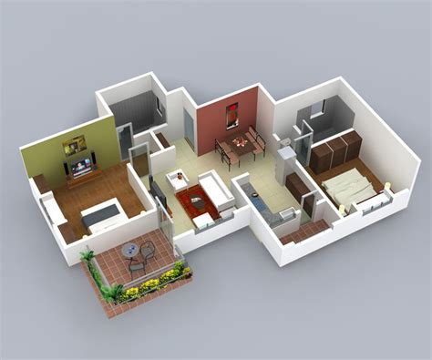 home design 3d 2 bhk sharada enclave residential apartment at nagala park kolhapur