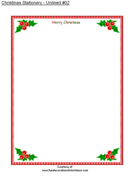 Free Printable Unlined Stationery | free printable stationery free printable unlined