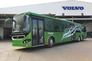 Volvo Company In Chennai High Capacity Volvo 7400xl City Trials Commence In