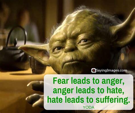 Master Yoda Quotes Anger