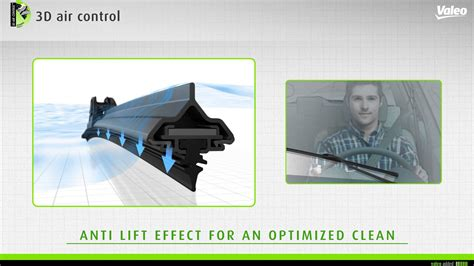 discover the new valeo pyramid flat wiper blade technology with hook connector