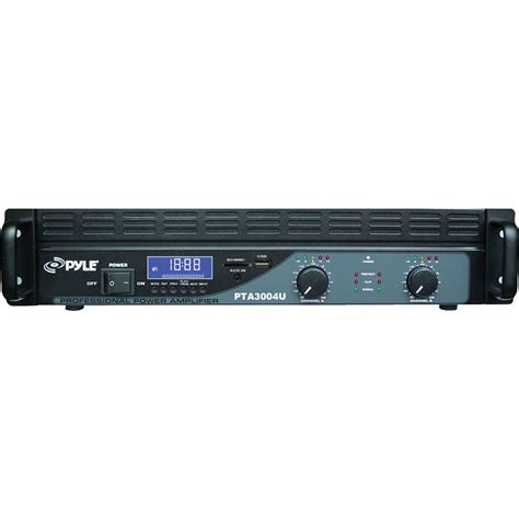 pyle pro 2 channel power lifier with usb sd readers