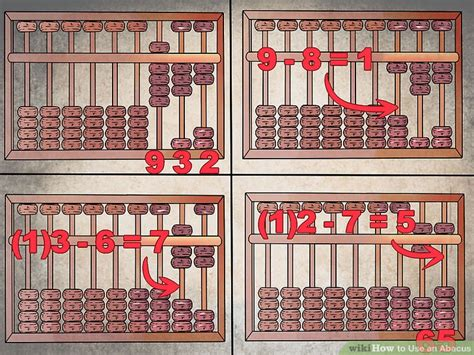 how to use an abacus with 10 how to use an abacus with pictures wikihow