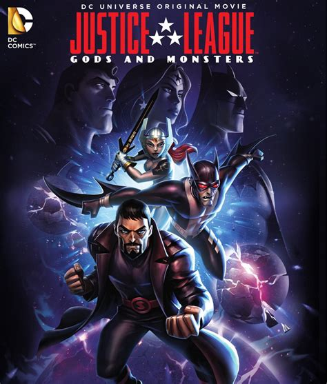 Film Justice League Gods And Monsters | justice league gods and monsters dvd release date july 28