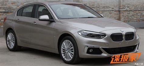 Bmw 1 Series Sedan New Photos Of 2017 Bmw 1 Series Sedan For China Will Get