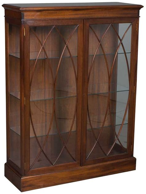 antique bookcases with glass doors antique mahogany bookcase glass doors