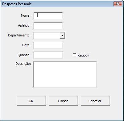excel userform layout e dicas como construir um formul 225 rio userform em vba