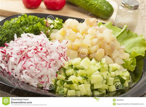 diced vegetables stock photography image 30649052