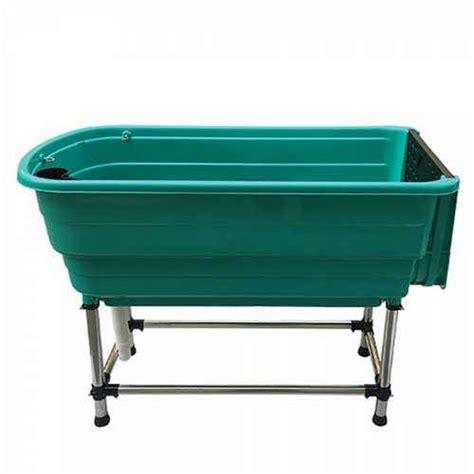 vasche lavaggio cani vasca portatile per lavaggio cani con telaio in