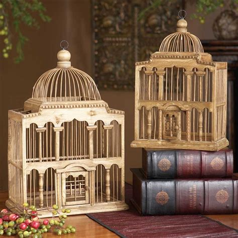 Bird Cage Decor Capitol Decorative Birdcage Wedding Table Centerpiece Wooden Birdcage Card Holder