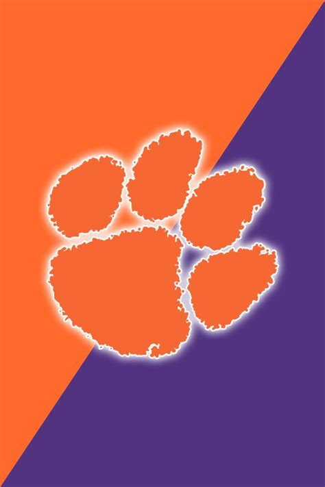 clemson football colors clemson tigers clemson and ipod touch on