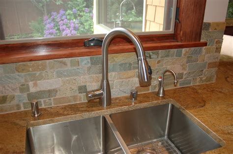 kitchen faucets for granite countertops stainless steel undermount sink with granite countertop yelp