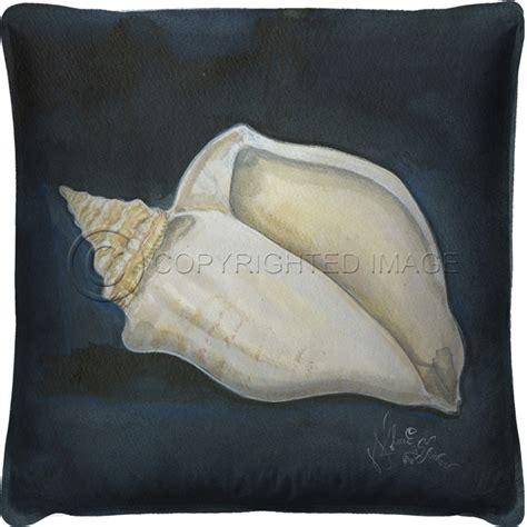 Seashell Pillow by Seashell No4 Pillow