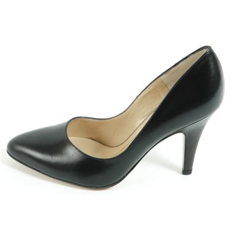Court Shoes by Kaiser Fabienne S Classic Leather Court Shoe