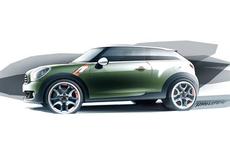 mini paceman concept car body design