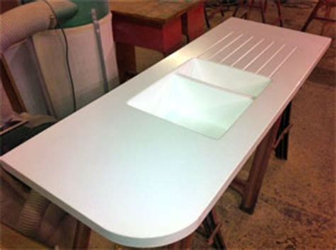 Worktop With Integrated Sink New Aquamura Shower Panels From Mitchells Kitchen Worktops