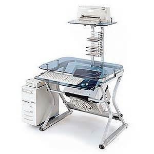 buy the leda glass desk at tigerdirect ca