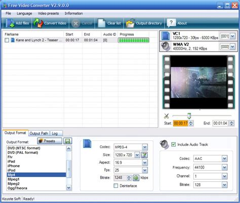 converter video koyote free video converter download from filemedio com