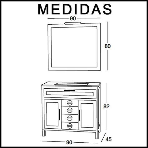 muebles cardenas mueble de ba 241 o carde 241 as 90 cm mueble de la serie de ba 241 o