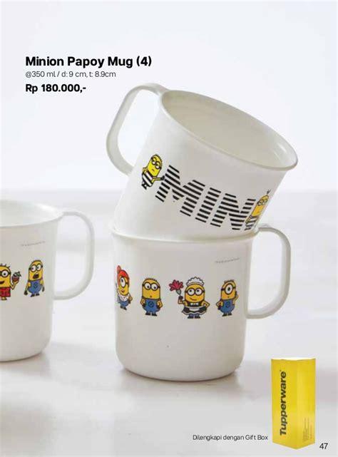 tupperware minion popay mug katalog tupperware september 2017 tupperware promo