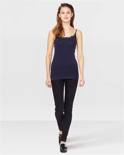 Jersey Singlet jersey lace singlet 79114431 we fashion