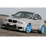 Leib Engineering BMW 1 Series M Coupe Is Blue Wheeled