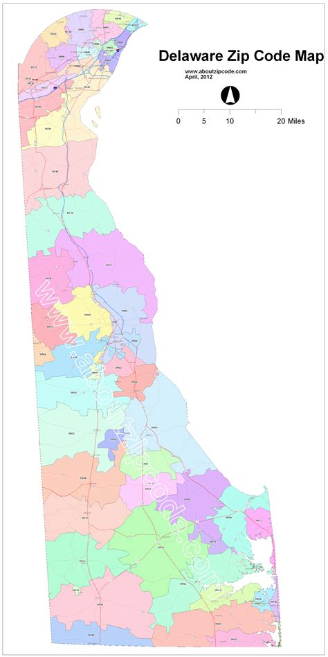 Zip Code Map Delaware | delaware zip code map adriftskateshop
