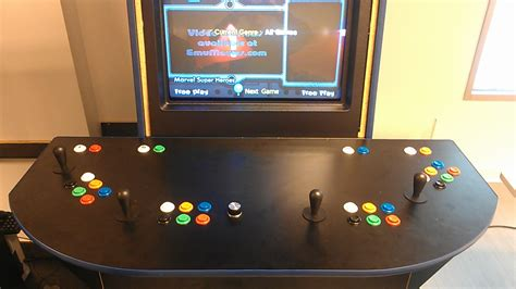 4 person arcade cabinet need advice on building a 4 player cabinet