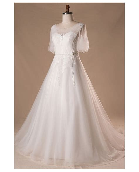 Outdoor Wedding Dresses For Flower by Plus Size Flowers Lace Country Outdoor Wedding Dress With
