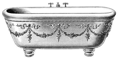 bathtub illustration clip art black and white bath clipart clipart suggest