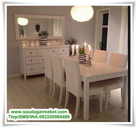 Meja Makan Putih meja makan murah berkualitas set meja makan minimalis