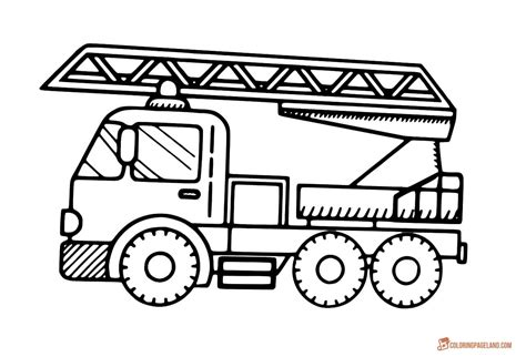 simple fire truck coloring page stunning coloring fire truck images coloring 2018