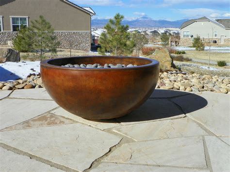 concrete pit bowl concrete pits and fireplace surrounds
