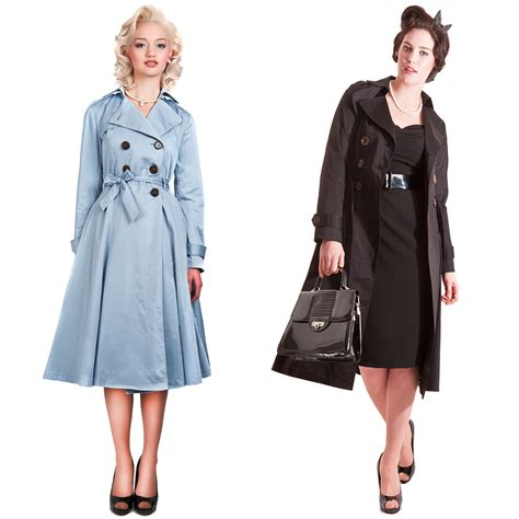 50s swing coat collectif dietrich vintage 40s 50s style summer swing