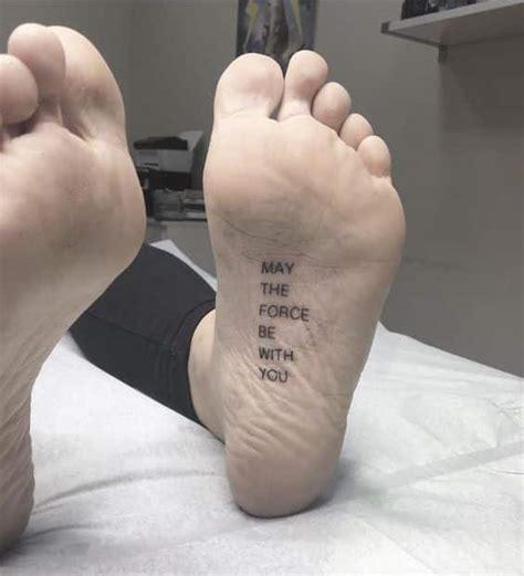 50 tatuajes en el pie con dise 241 os para hombres y