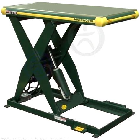 shop southworth backsaver hydraulic scissor lift table ls2