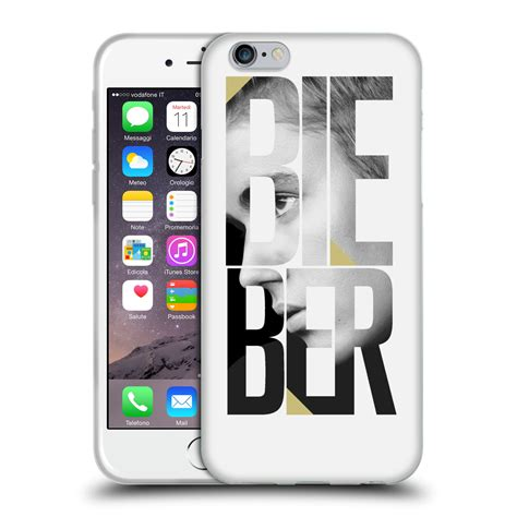Soft Iphone 44s55s66s66s Sam official justin bieber black and white soft gel for apple iphone phones ebay