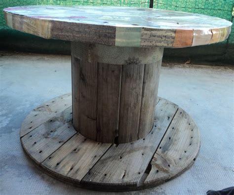 Bobine De Chantier Table Basse by Les Cr 233 Ations De Liz Ouille