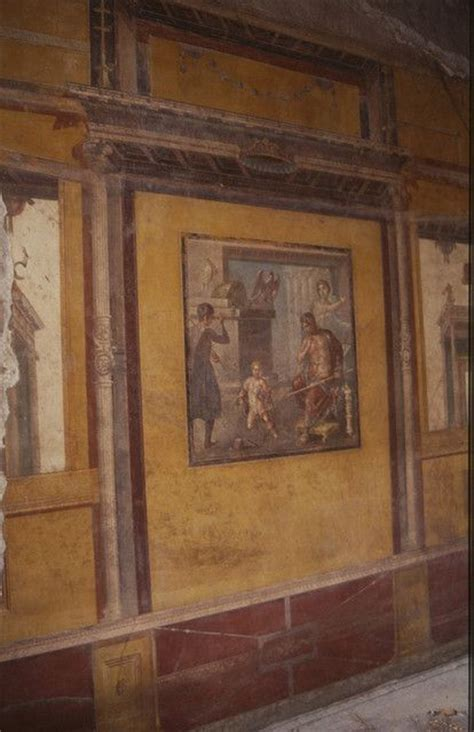 pompeii house of the vettii wall painting khan academy 199 best frescoes murals mosaics images on pinterest