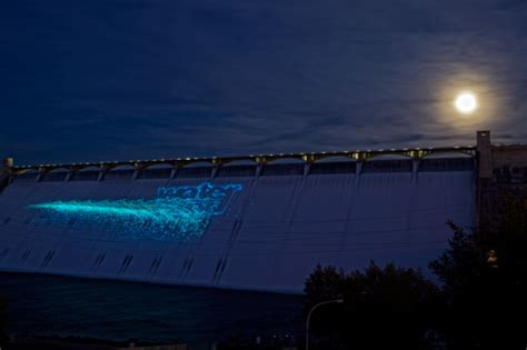 light show at grand coulee dam the palouse