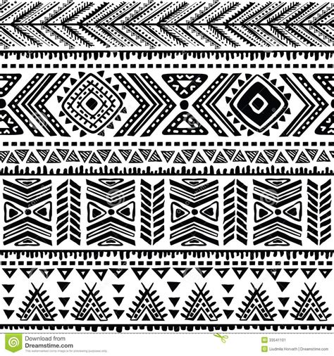 pattern drawing tribal abstract tribal pattern stock vector image of color