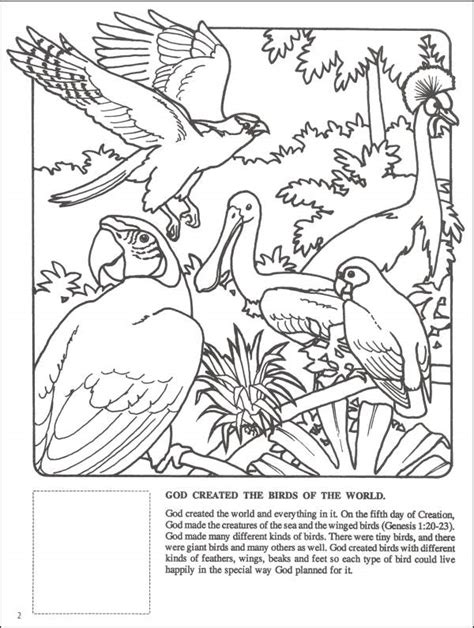 god made the animals coloring page free coloring pages