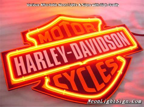 harley davidson neon light harley davidson motor cycle neon light sign