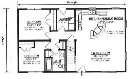 home design plans 25 40 c110021 2 hallmark modular homes
