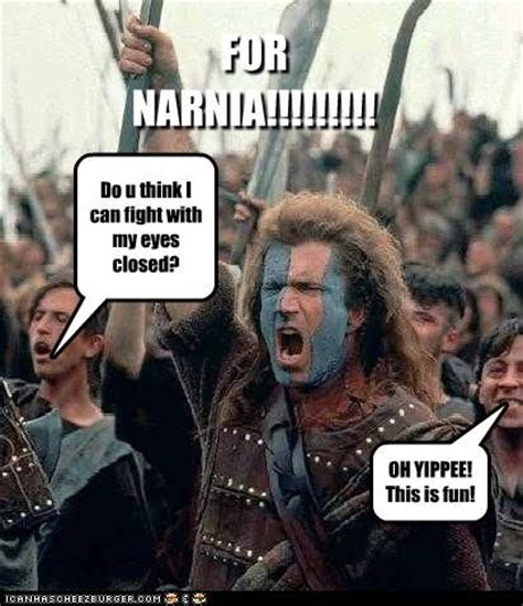 William Wallace Meme - 134 best images about narnia on pinterest english