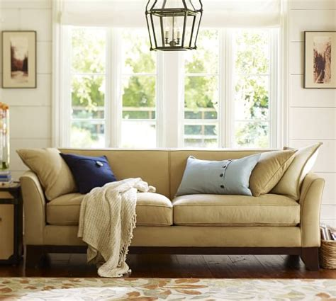 pottery barn loveseats greenwich upholstered sofa pottery barn